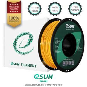 esun-israel-pla+-pla-plus-gold-1kg-חומר-גלם-איסן-יבואן-רשמי